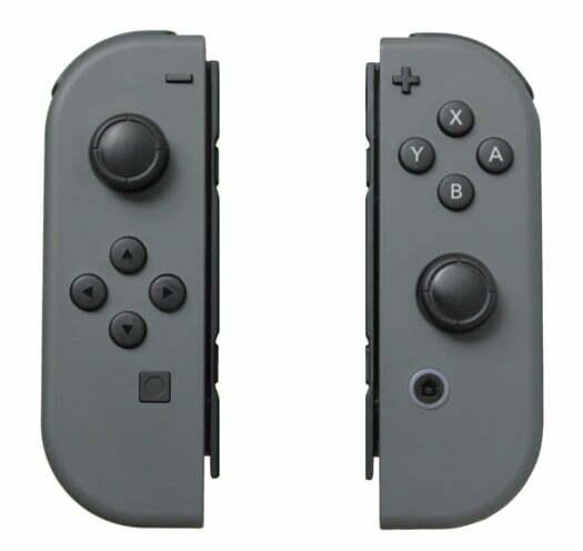 Controladores Joy-Con de la videoconsola Nintendo Switch.