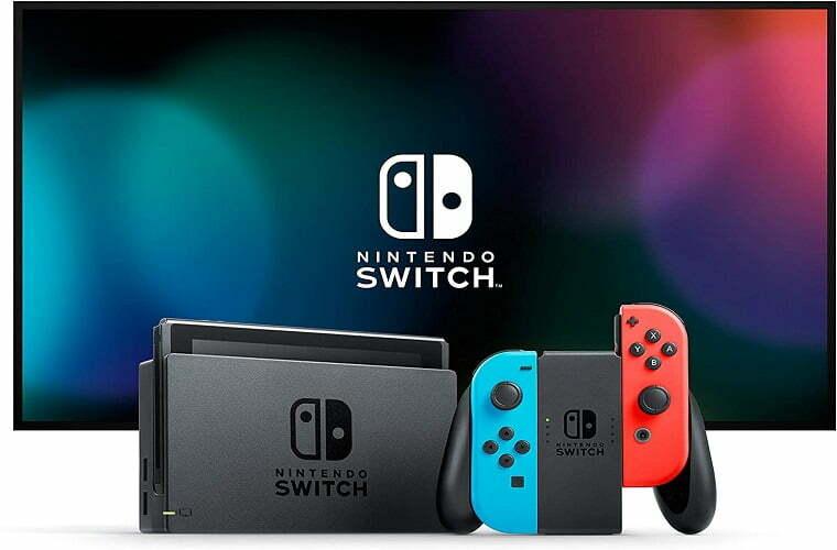 Videoconsola Nintendo Switch.
